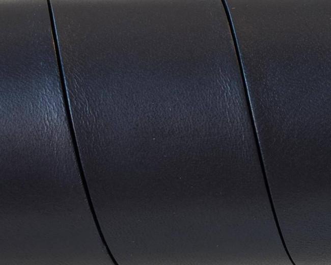 Cuero Plano 30x1,5mm. Negro. Calidad superior