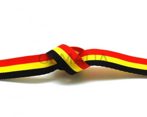 Lazo. Bandera. 12mm. Belgica. Calidad superior