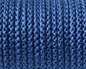 Cordon polipropileno. Trenzado. Redondo. 4,5mm. Azul. Calidad Superior