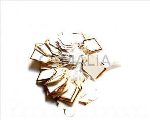 Etiquetas precios papel. 24x18mm