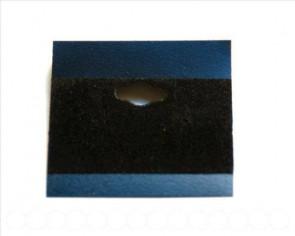 Expositor pendientes. 51x51x0,5mm. negro