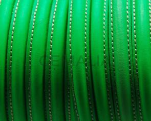 Cuero. Media caña. Fluorescente verde. Calidad Superior