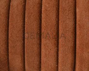Piel de serraje REGALIZ. Oval 10x6mm . Camel. Calidad superior