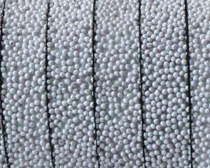 Caviar sintetico. Plano 10x2,2mm. Gris claro. Calidad superior