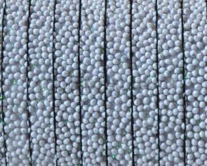 Caviar sintetico  Plano. 5x2mm. Gris claro. Calidad superior
