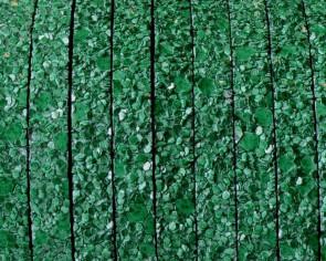 Tira fantasia sintetica. Plano 5x2mm. Verde. Calidad superior