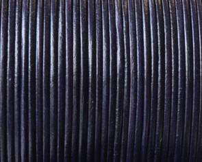 Piel de Canguro. Redondo 1mm. Azul marino. Calidad superior