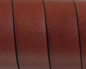 Cuero Plano 20x1,5mm. Marron Medio. Calidad superior1,10-1,20M/tira
