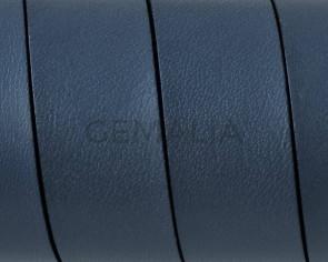 Cuero Plano 20x1,5mm. Gris-Cantos negros. Calidad superior