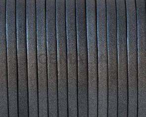 Cuero Plano 3x1,5mm. Plata vieja metalizada 3. Calidad superior