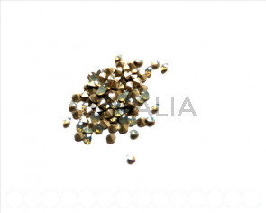 SWAROVSKI. Xilion Chatons 3mm. Light Grey Opal