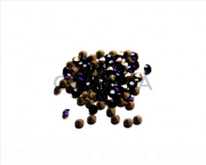 SWAROVSKI. Xilion Chatons 3mm. Purple Velvet