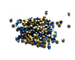 Cristal. Rhinestone Chaton. 4-4,1mm. Light Sapphire
