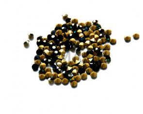 Cristal. Rhinestone Chaton. 4-4,1mm. Emerald