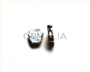 Cuentas Metalicas. Hello Kitty 15x13x4mm.  Int.8x2mm