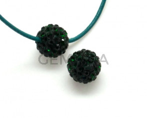 Rhinestone.Bola.10mm.Emerald.Int.2mm.aprox.