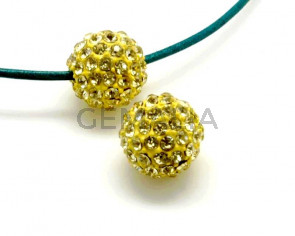 Rhinestone.Bola.12mm.Yonquil.Int.3mm aprox.