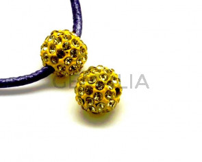 Rhinestone.Bola.10mm.Yonquil.Int.2,5mm aprox.