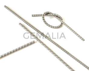 Acero inoxidable 304. Hilo. Muelle.210x4,2mm.Plateado.Int.2,8mm aprox.