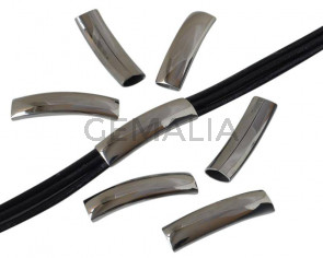 Acero inoxidable 304. Tubo. 8x3mm. Plateado. Int.36x10mm