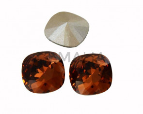 SWAROVSKI 4470 10mm. Smoked Topaz F