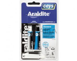Pegamento Araldite extrafuerte blister pequeño 5+5ml.