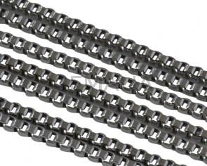 Cadena de Acero inoxidable 304 cuadrada 1,2mm. Plateado.