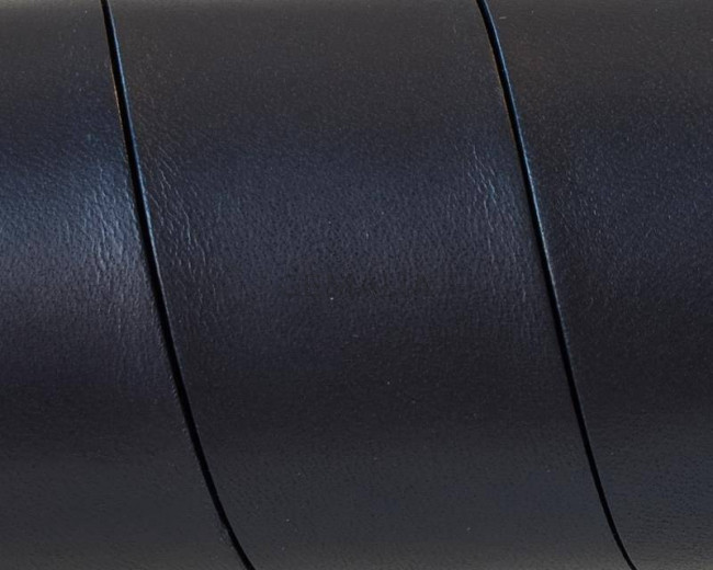 Flat Leather cord. 30x1.5mm. Black. Best Quality.
