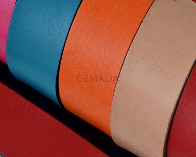 Flat Leather cord. 20x1.5mm. MIX. Best Quality.