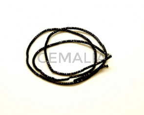 Cord. 1.5mm. Black. 40 cm.