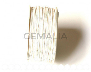 Cotton cord. 1mm. White