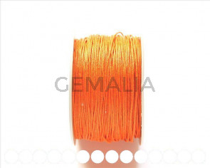 Cotton cord. 1mm. Orange