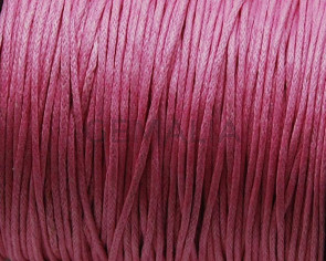 Cotton. Cord. 1mm. Pink.