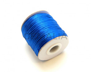 Nylon Cord. 1mm. Blue. 93Metres.