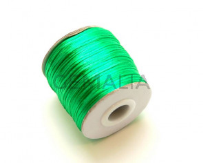 Nylon Cord. 1mm. Green. 93Metres.