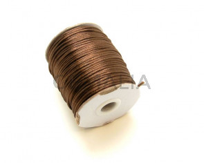 Nylon Cord. 2mm. Dark brown. 88Metres.