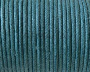 Algodón. Cordon. 2mm. Azul mar.