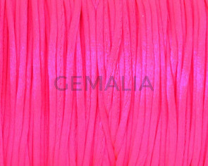 Nylon Cord. 1mm. Fuchsia. Fluorescent.