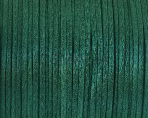Nylon Cord. 1mm. Bottle green.