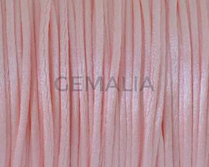 Nylon cord. 1mm. Pink.