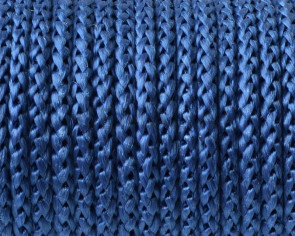Cord. Polipropylene. Braided. Round. 4.5mm. Blue. Best Quality.