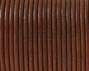 Round Leather cord 2.5mm. Light Brown. Best Quality.
