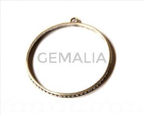 Zamak. Bracelet. 69mm. Silver color. Inn. 64mm.
