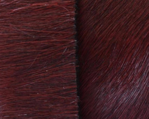 Colored cow hair Flat leather cord. 20mmgar.-dark.Best Quality.