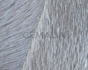 Colored cow hair Flat leather cord. 20mm. l.grey. Best Quality.