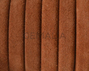 REGALIZ leather cord. Oval 10x6mm. Camel. Best Quality.