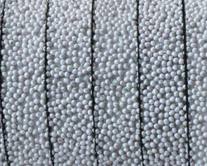 Flat Synthetic Caviar. 10x2.2mm. Light grey. Best Quality.
