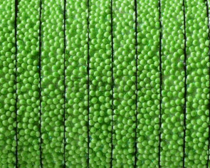 Flat Synthetic Caviar. 5x2mm. Apple green. Best Quality.