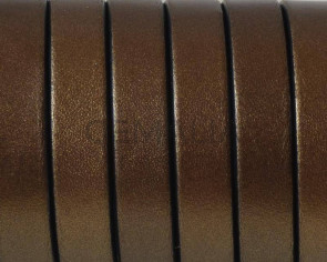 Flat Leather cord 10x1.5mm.Metal antique gold3-black. Best Quality. Bulk Price.