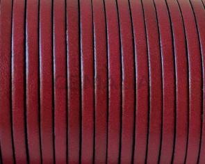 Flat Leather. 3x1.5mm. Burdeous. Best Quality